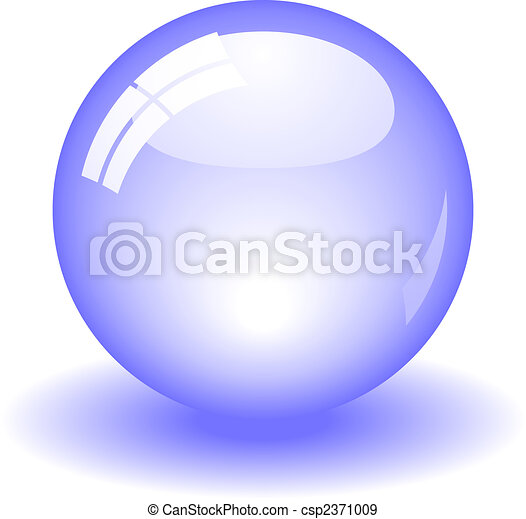 Bola brillante - csp2371009