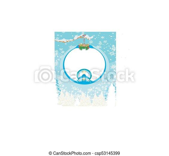 pelota, cristiano, escena abstracta, jesús, natividad, plano de fondo, ahorcadura, bebé, navidad, transparente - csp53145399