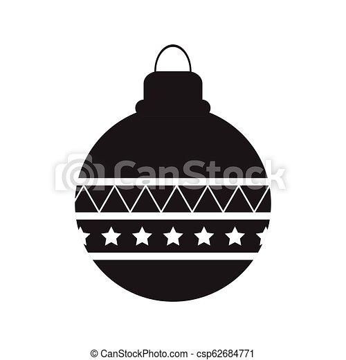 Aislado ícono de Navidad - csp62684771