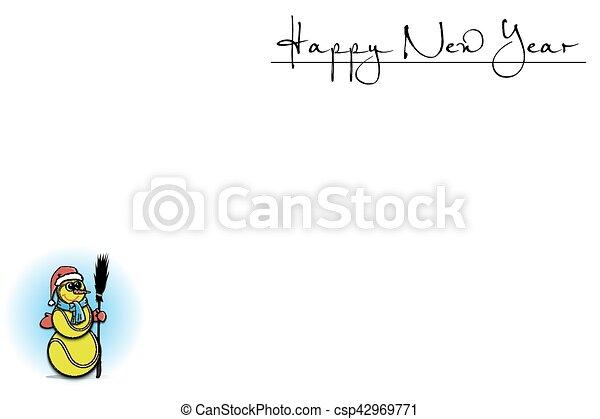 Antecedentes con árbol de Navidad de pelota de tenis - csp42969771