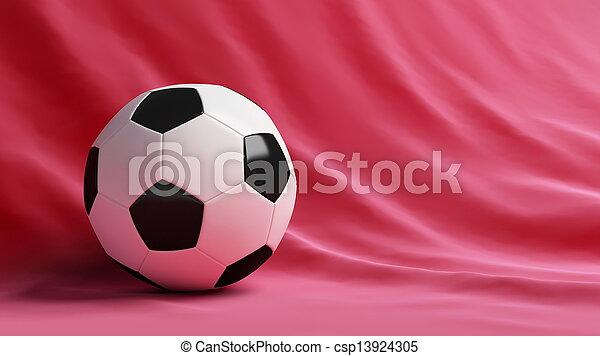 Bola de fútbol - csp13924305