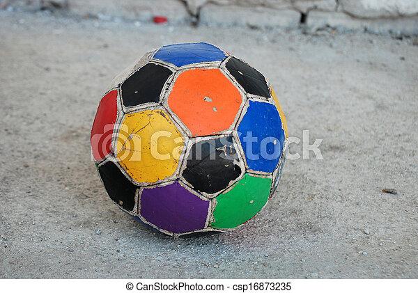 Bola de fútbol - csp16873235