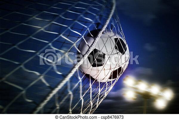 Bola de fútbol - csp8476973