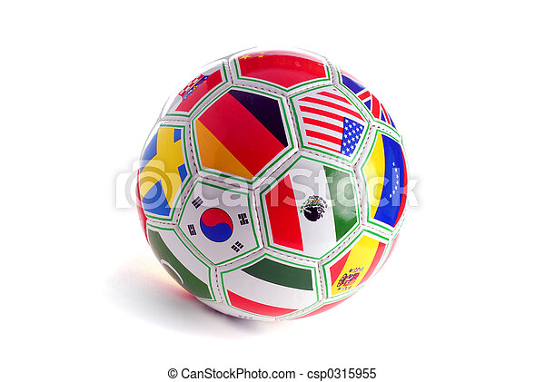 pelota del fútbol - csp0315955