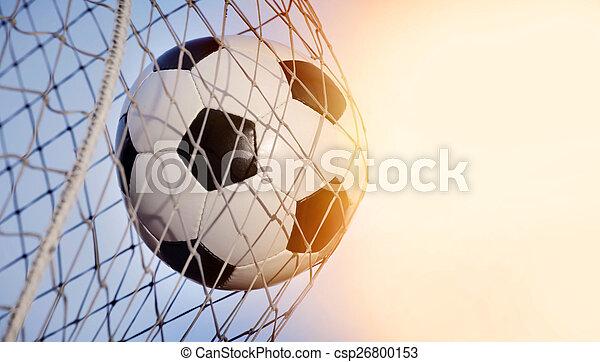 Bola de fútbol - csp26800153