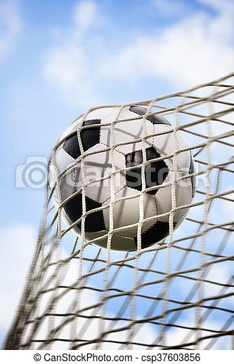 Bola de fútbol - csp37603856