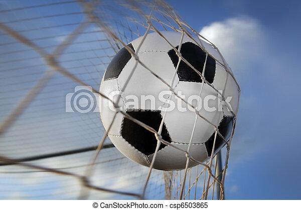 Bola de fútbol - csp6503865