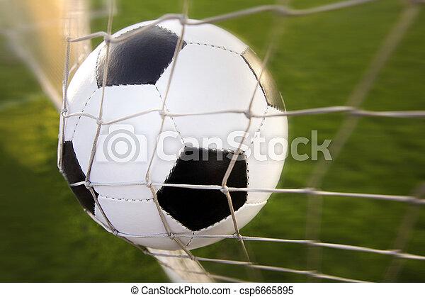 Bola de fútbol - csp6665895
