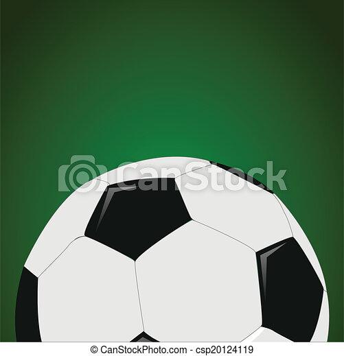 pelota del fútbol - csp20124119