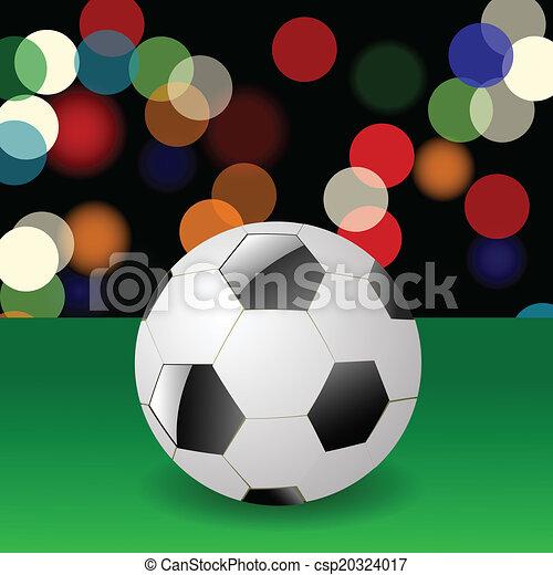 Bola de fútbol - csp20324017