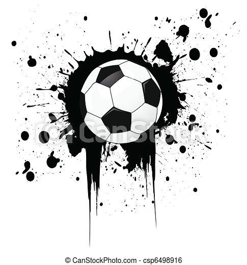 Bola de fútbol - csp6498916