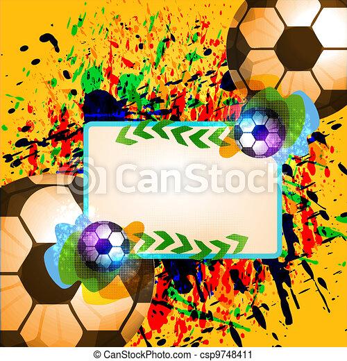 Bola de fútbol - csp9748411