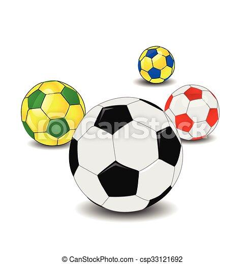 pelota del fútbol - csp33121692