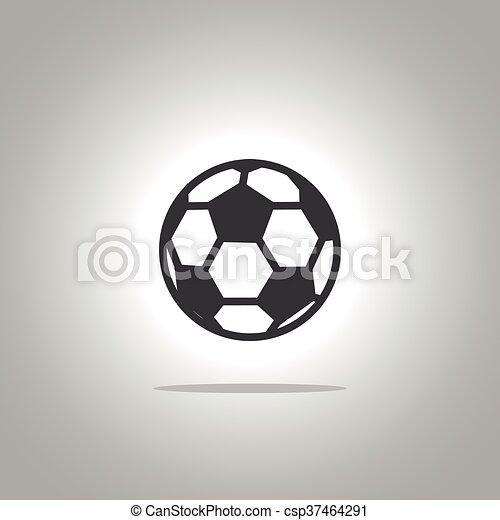 Bola de fútbol - csp37464291