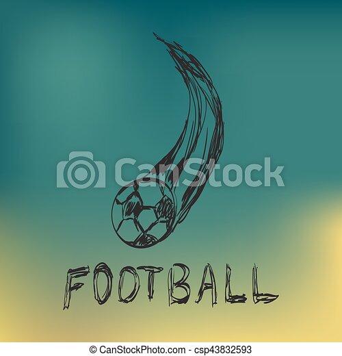 Bola de fútbol - csp43832593