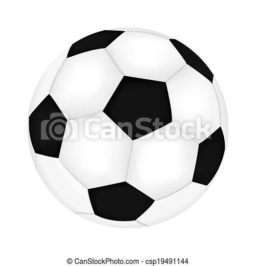Bola de fútbol - csp19491144
