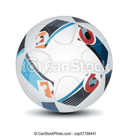 Bola de fútbol - csp37758441