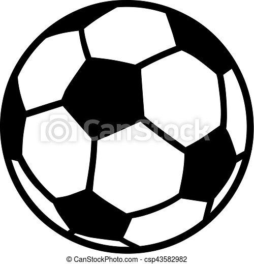 Bola de fútbol - csp43582982