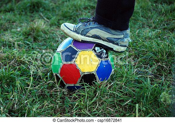 Bola de fútbol - csp16872841