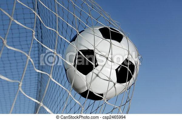 Bola de fútbol - csp2465994
