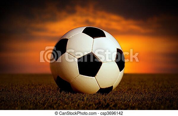 Bola de fútbol - csp3696142