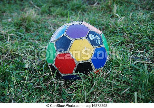 Bola de fútbol - csp16872898