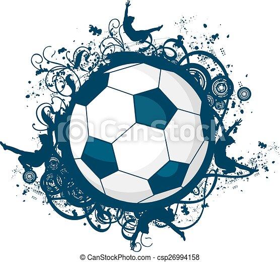 icono de fútbol - csp26994158