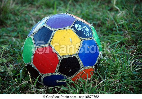 Bola de fútbol - csp16872762
