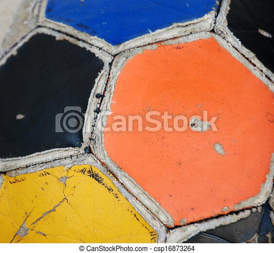 Bola de fútbol - csp16873264