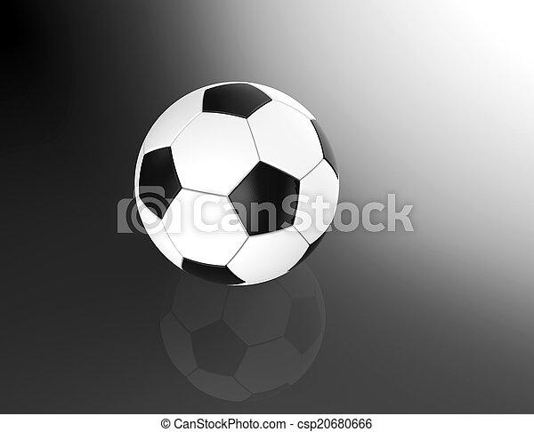 Bola de fútbol - csp20680666