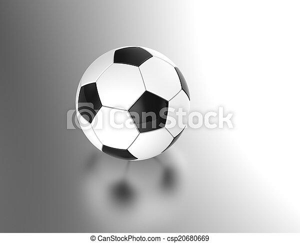 Bola de fútbol - csp20680669
