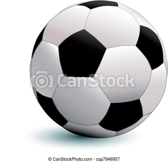 Bola de fútbol - csp7946957
