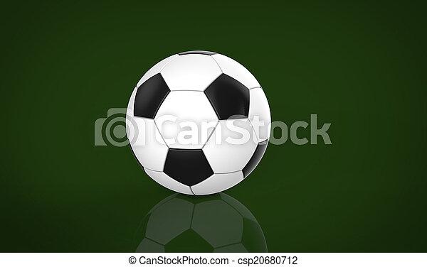 Bola de fútbol - csp20680712