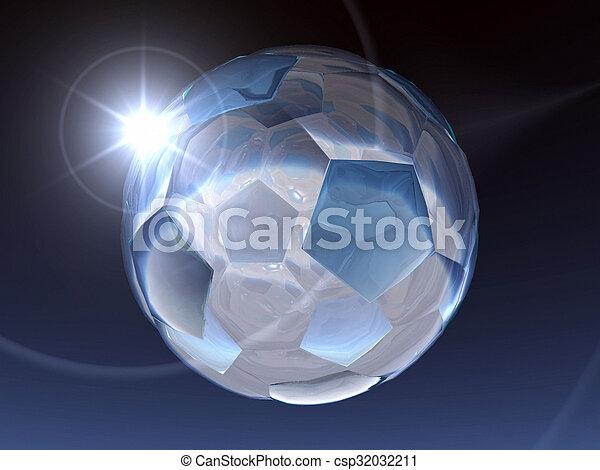Bola de fútbol - csp32032211