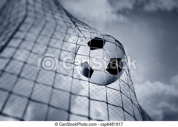 Bola de fútbol - csp6481917