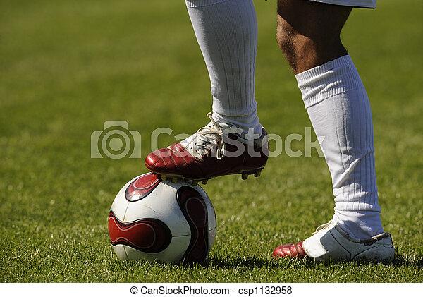 Bola de fútbol - csp1132958