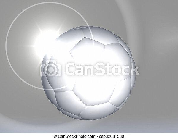 Bola de fútbol - csp32031580