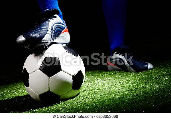 Bola de fútbol - csp3853068