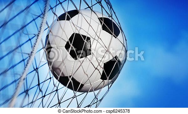 Bola de fútbol - csp6245378