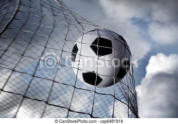 Bola de fútbol - csp6481918
