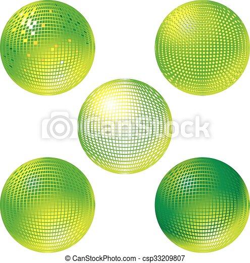 Bola disco - csp33209807