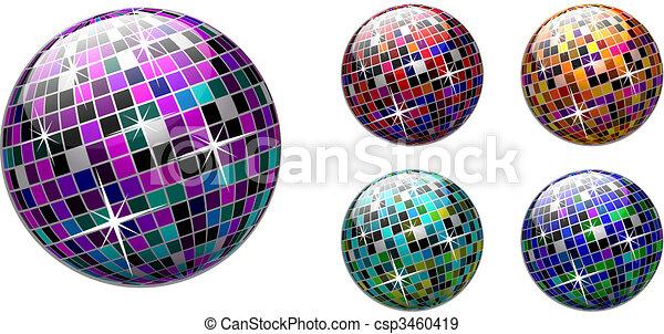 Bola de Disco - csp3460419