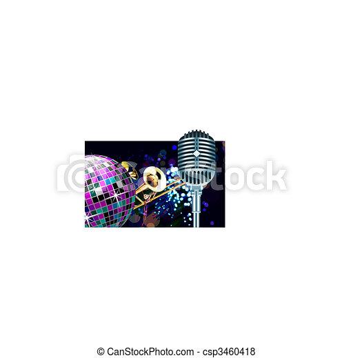 Bola de Disco - csp3460418