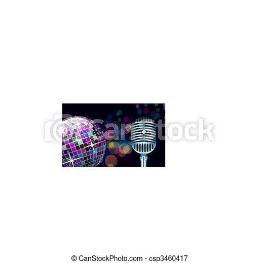 Bola de Disco - csp3460417