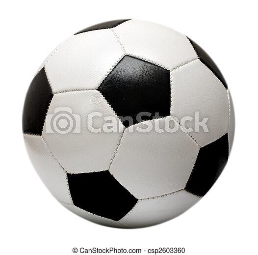 Una pelota de fútbol - csp2603360