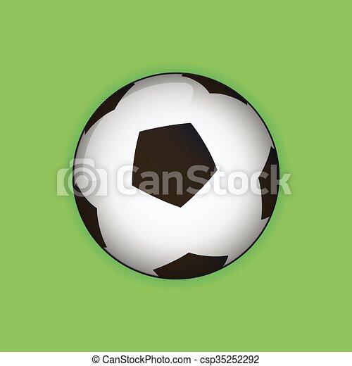 Bola de fútbol - csp35252292