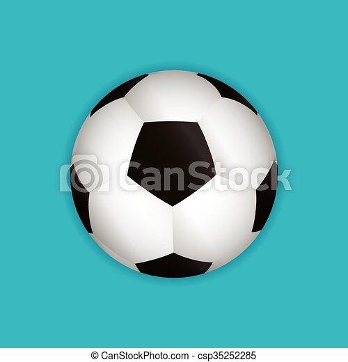 Bola de fútbol - csp35252285
