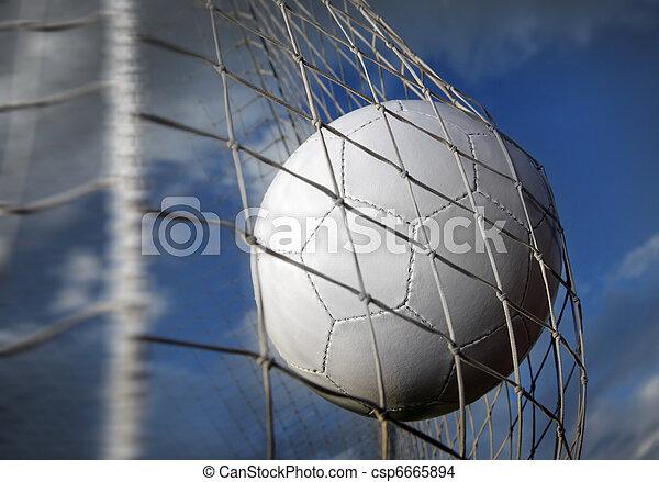 Bola de fútbol - csp6665894