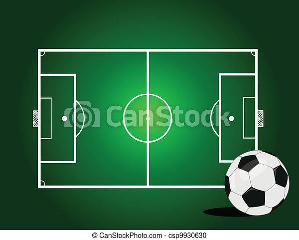 Una pelota de fútbol - csp9930630