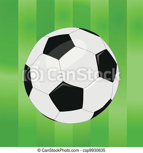 Una pelota de fútbol - csp9930635